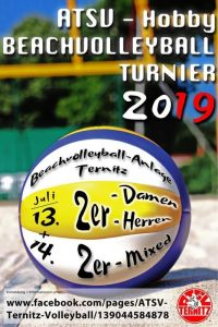 Hobby - Beachvolleyball Turnier 2019 @ Beachvolleyballanlage des ATSV Ternitz
