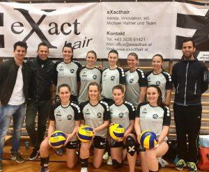Volleyball Damen 1 - Landesliga 10.Rd @ BG/BRG Schwechat